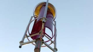 видео Ветрогенератор с вертикальным ротором