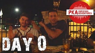 DAY 0: The Night Before - PKA Survival Trip 2015