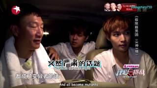 Video [ENGSUB] Yixing, XiaoZhu, HongLei moment - Go Fighting Ep 12 BTS Cut download MP3, 3GP, MP4, WEBM, AVI, FLV Juli 2018