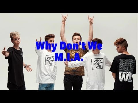 M.I.A. (lyrics) - Why Don't We