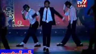 Allu Arjun's michael jackson Dance at SS Style Awards