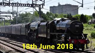 Flying Scotsman at Rugby 2018-06-18