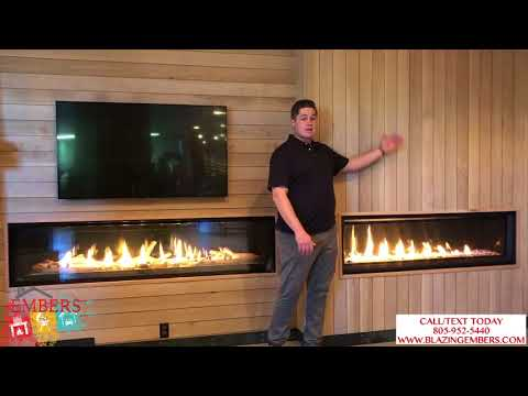 Napoleon Luxuria Vs  Vector Series Linear Gas Fireplace, What Is The Difference?