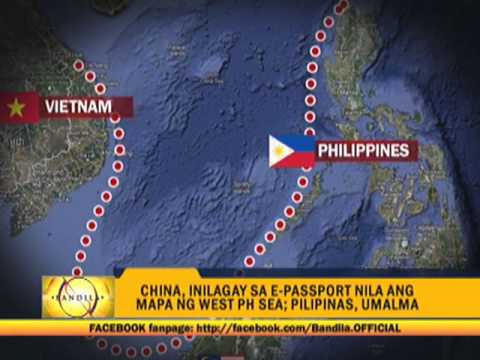 PH protests maps in new China passports