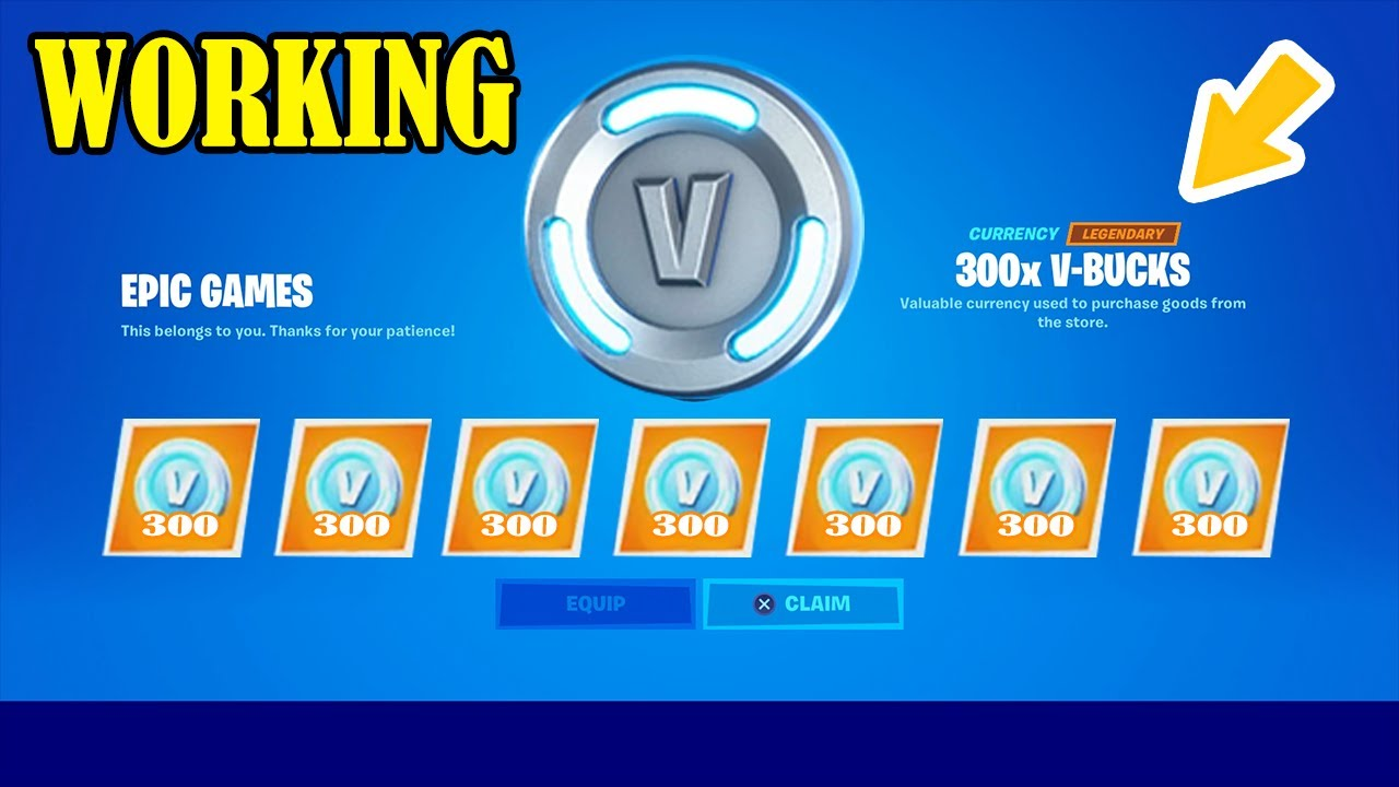 **NEW** HOW TO GET 13,500 V BUCKS FREE IN FORTNITE CHAPTER ...