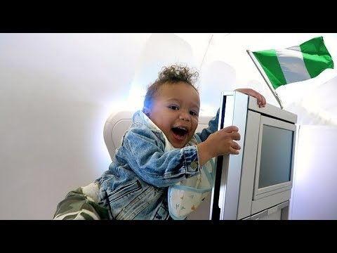 WHAT DID HE JUST DO?! (CHEEKY TODDLER) - NIGERIA TRAVEL VLOG | AdannaDavid