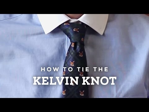 How to Tie A Perfect Kelvin Necktie Knot