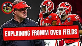 Why Kirby Smart Chose Jake Fromm Over Justin Fields (Late Kick Cut)