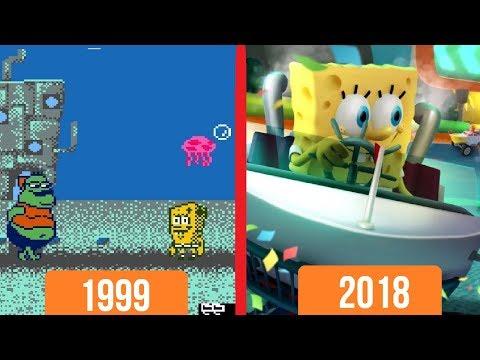 ЭВОЛЮЦИЯ ИГР О ГУБКЕ БОБЕ! (1999-2018) - Обзор Игр