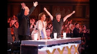 Top 4 GOLDEN BUZZER From Judges on America's Got Talent: The Champions
