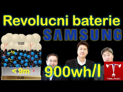 #197 Samsung revoluční baterie | Teslacek