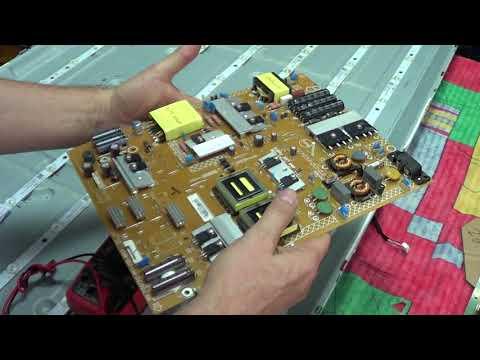 Снимаем 55 матрицу телевизора Philips