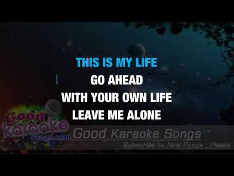 My Life -  Billy Joel (Lyrics Karaoke) [ goodkaraokesongs.com ]