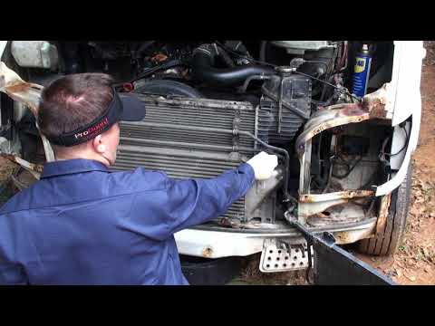 How To Remove inter cooler on T1N Mercedes Sprinter ZIMALETA How To Show