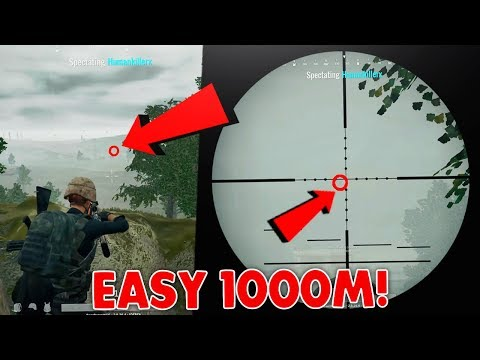PUBG: 15x Scope is INSANE! Easy 1000m Kill! (Top 10 15x Scope Kills Best Highlights Montage)