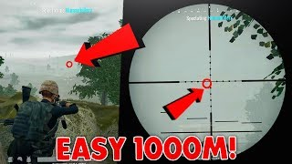 PUBG: 15x Scope is INSANE! Easy 1000m Kill! (Top 10 15x Scope Kills Best Highlights Montage)