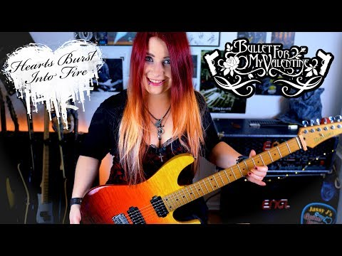 BULLET FOR MY VALENTINE - Hearts Burst Into Fire [GUITAR COVER] 4K | Jassy J