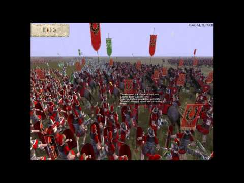 "Rome 1 and im the lonely (Premarian) army in a roman 2v2 ""god help me"" 