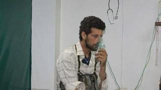 أخبار حصرية - قوات الأسد تشن هجوما بالغازات السامة في #الغوطة الشرقية