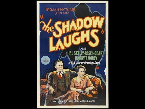 "American Classic Old 1933 Movie Film ""The Shadow Laughs"""