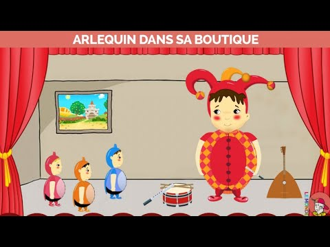 Le Monde d'Hugo - Arlequin dans sa boutique - Version Karaoke