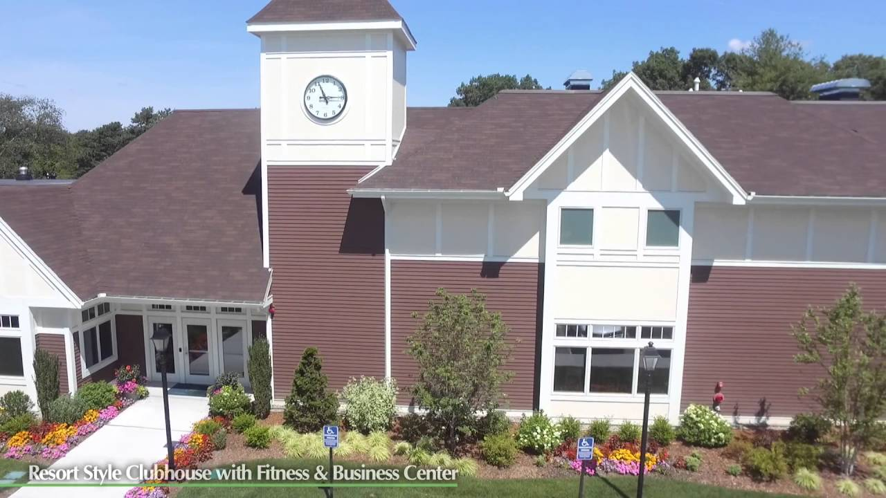 Village Green Apartments in Plainville, MA - Aerial ...