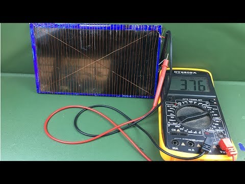 How to make solar energy , Free energy , Experiment DIY easy science project work 100%