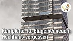 Komplette 10. Etage bei neuem Hochhaus vergessen [Postillon24-Klassiker]