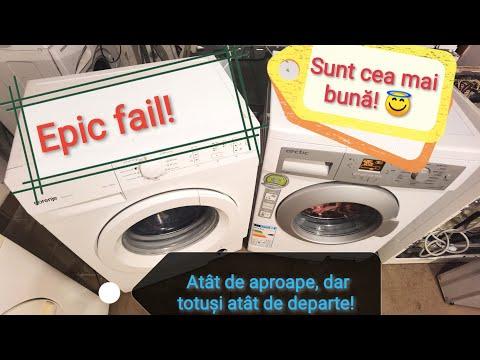 Quick race washing machine / Cursă rapidă mașină de spălat /Gorenje &  Arctic