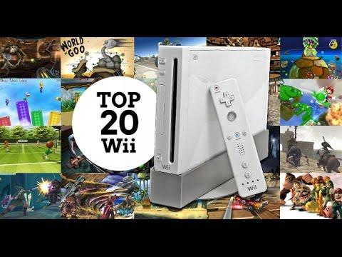 Los 20 mejores juegos de Wii
