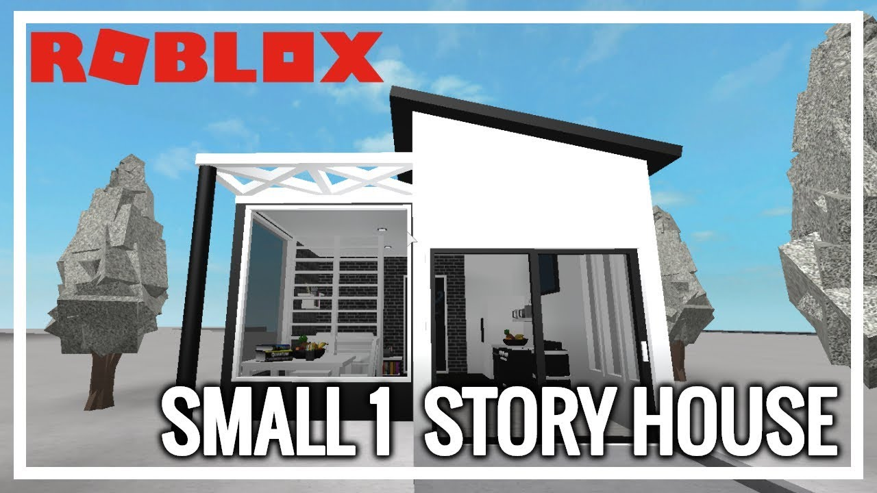 Welcome To Bloxburg Small One Story Home Slowed Down