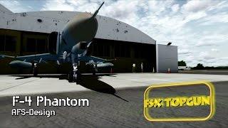 FSX AFS-Design McDonnell Douglas F 4F Phantom II