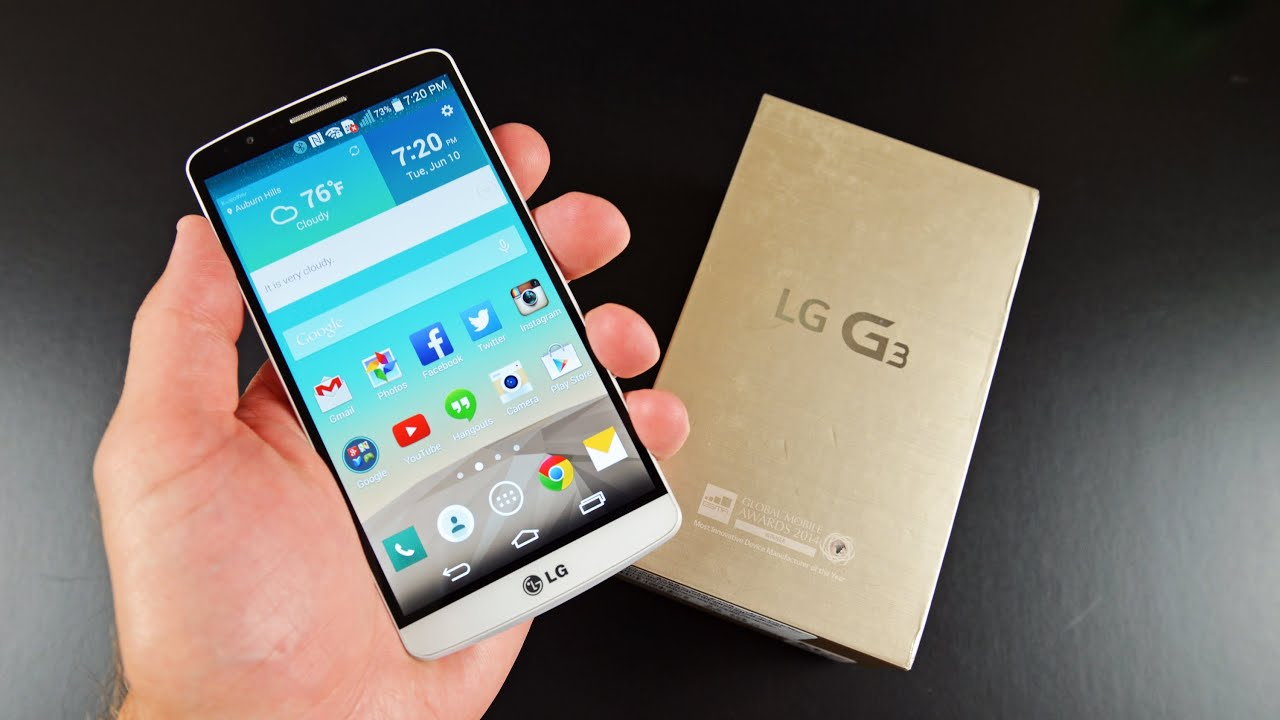 LG G3: Unboxing & Review - YouTube