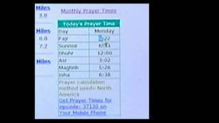 Prayer Times Tutorial... when are they? screenshot 2