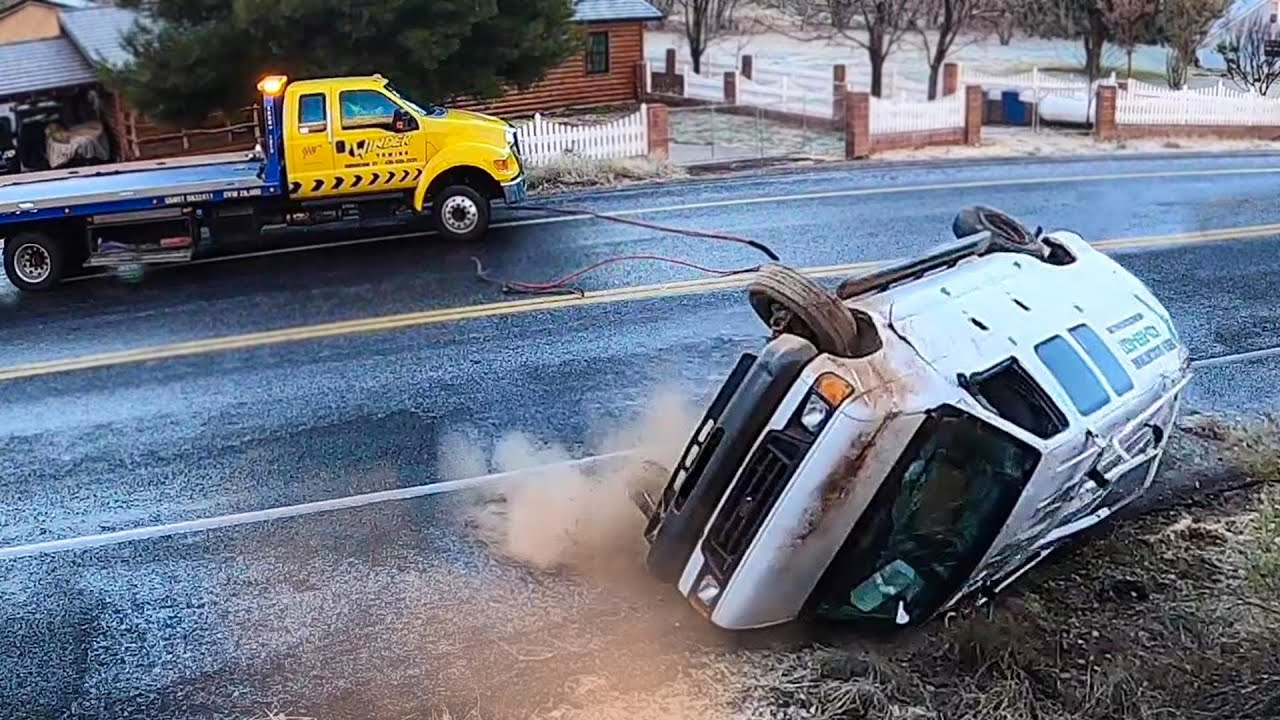 Unfortunate Ford Rollover & A Double Stack Trailer RZR Recovery!