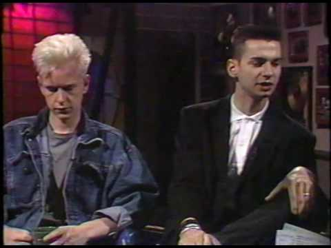 Depeche Mode 'Black Celebration' interview MTV 1986