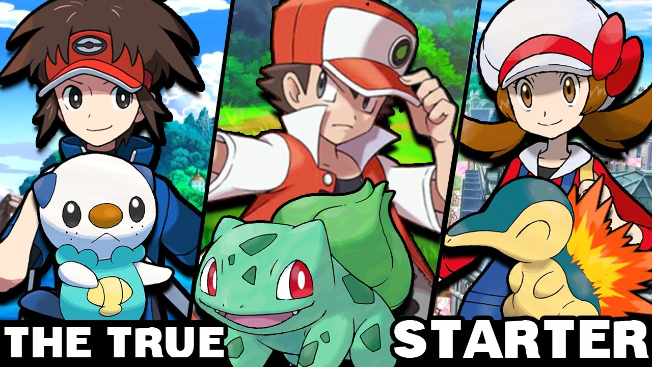 What Are The True Starter Pokemon Of Protagonists