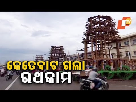 Rath Yatra - A Maharana Servitor Gives Update On Chariot Construction