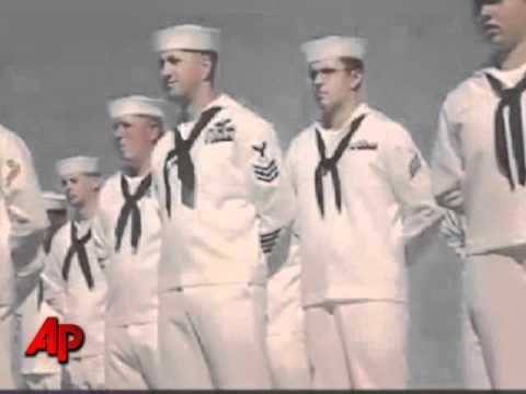 Sailors Mark 10th Anniv. of Attack on USS Cole