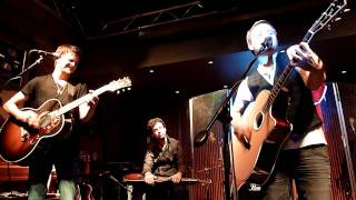 Zach Myers, Zack Mack and Adam Ollendorff performing Sweet Foxy Jane in Nashville