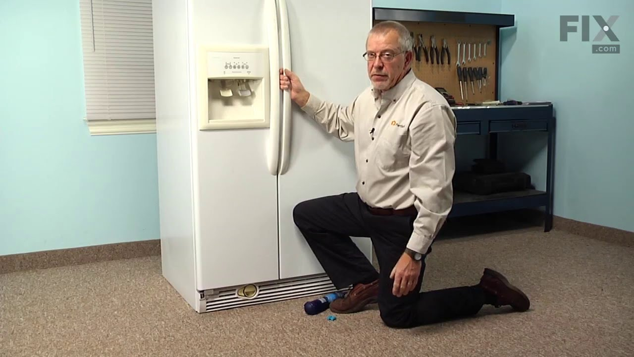Kenmore Refrigerator Repair How To Replace The Single