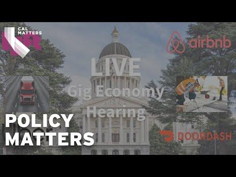 LIVE: Gig Economy Hearing