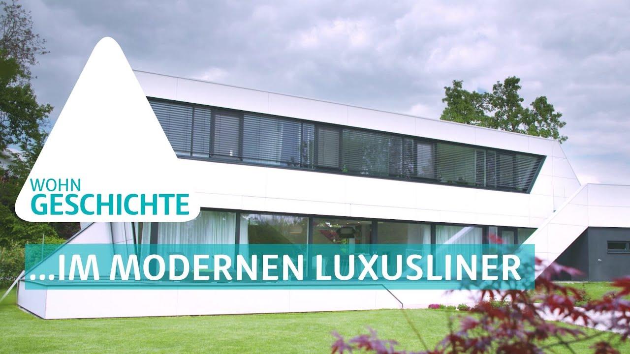 BAUEN & WOHNEN: modernes Architektenhaus - #Wohngeschichten - YouTube
