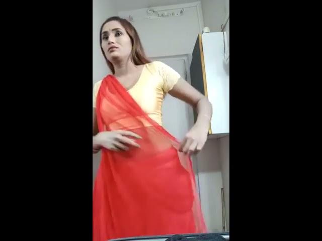 Swathi Naidu Saree Change Video
