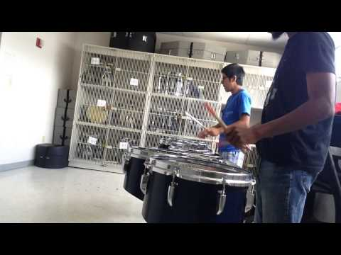 Me and Jose playing the FSU War Chant - Tenor Line