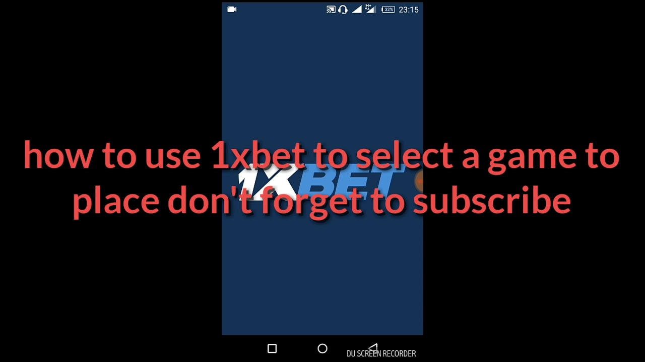 How to use 1xbet app to place a bet