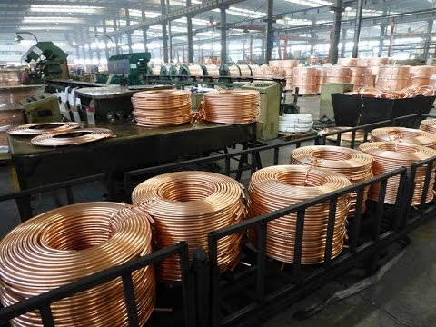 Copper tube machine pipe machinery production cast roll making equipment processing