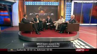 Gambar cover All Time Best Team in All Sports - ESPN Roundtable w/ J-Rose, Barnaby, Schlereth, Phillips