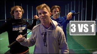 3 Vs 1 Top Golf Challenge - GM GOLF