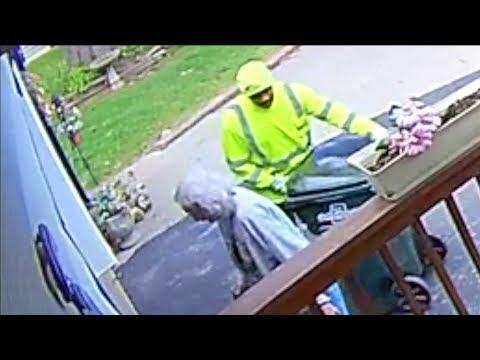 Brian Price - #GoodNews: Garbage Man Caught On Camera Helping Elderly Customer